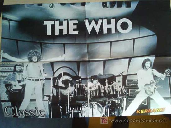 Revistas de música: LOTE DE +170 POSTER (CON FOTOS) HEAVY HIM TOOL JIMI HENDRIX MUSE ROLLING STONES THE WHO SLIPKNOT - Foto 3 - 27314654
