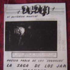 Revistas de música: FANZINE (REPLICA) DU-DUA (NEGROS SA-MARI WILSON-ALASKA-NIKIS-ANA CURRA-BOWIE-MINUIT POLONIA....). Lote 32331650