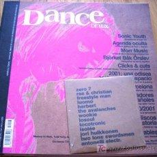 Revistas de música: CD DANCE DE LUX 2001 [ROCK DE LUX, SONIC YOUTH,HERBERT] SOLO CD, NO REVISTA. Lote 211257567