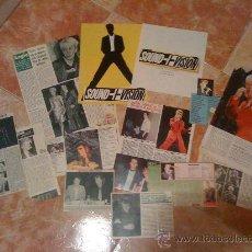 Magazines de musique: LOTE DE MÁS DE 10 RECORTES DE PRENSA DE DAVID BOWIE. AÑOS 80 Y 90.. Lote 21130185
