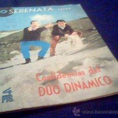 Revistas de música: SERENATA EXTRA. Nº 52. AÑO 1965. CONFIDENCIAS DEL DUO DINAMICO.. Lote 9618836