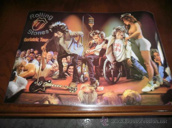 Poster Grande De Rolling Stones Geriatric Tour Sold Through Direct Sale 24005832
