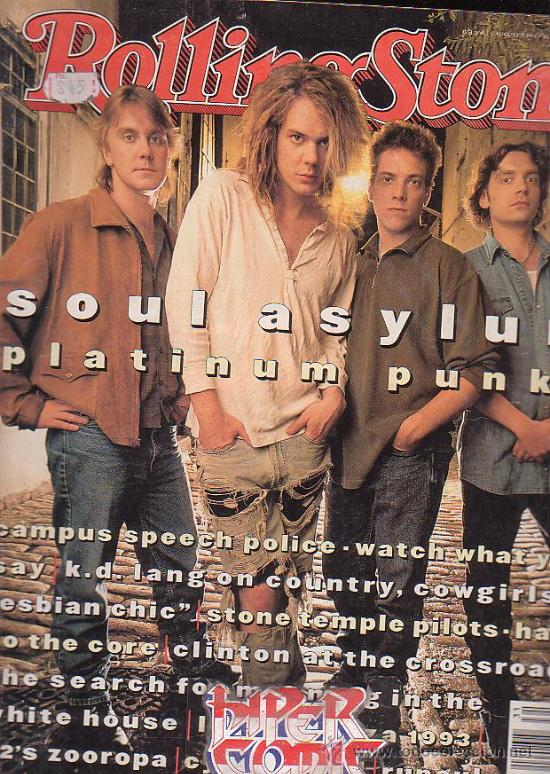 ROLLING STONE, REVISTA DE MUSICA ( EDICION EN INGLES ) - EDITADA AUGUST 1993 (Música - Revistas, Manuales y Cursos)
