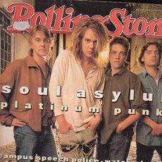 Revistas de música: ROLLING STONE, REVISTA DE MUSICA ( EDICION EN INGLES ) - EDITADA AUGUST 1993. Lote 22763617