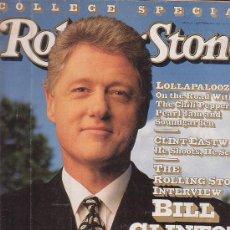 Revistas de música: ROLLING STONE, REVISTA DE MUSICA ( EDICION EN INGLES ) - EDITADA SEPTEMBER 1992. Lote 22764152
