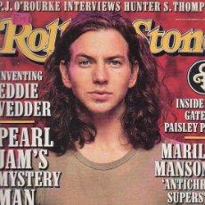 Revistas de música: ROLLING STONE, REVISTA DE MUSICA ( EDICION EN INGLES ) - EDITADA NOVEMBER 1996. Lote 22764239
