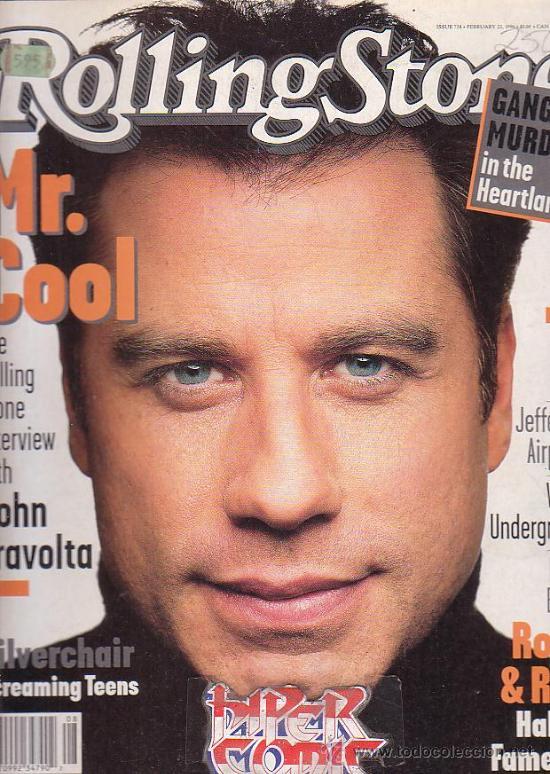 ROLLING STONE, REVISTA DE MUSICA ( EDICION EN INGLES ) - EDITADA FEBRUARY 1996 (Música - Revistas, Manuales y Cursos)