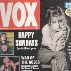 Revistas de música: VOX , REVISTA DE MUSICA ( EDICION EN INGLES ) - EDITADA JANUARY 1991 -MANTIENE SUPLEMENTO CENTRAL. Lote 22765152