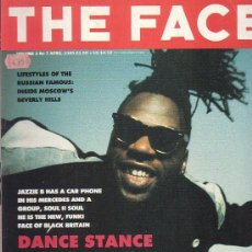 Revistas de música: THE FACE , REVISTA DE MUSICA ( EDICION EN INGLES ) - EDITADA APRIL 1989. Lote 22769365