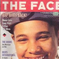 Revistas de música: THE FACE , REVISTA DE MUSICA ( EDICION EN INGLES ) - EDITADA NOVEMBER 1990. Lote 22769514