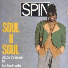 Revistas de música: SPIN , REVISTA DE MUSICA ( EDICION EN INGLES ) - EDITADA MAY 1990. Lote 22770185