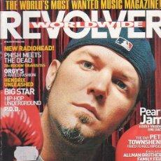 Revistas de música: REVOLVER WORLDWIDE , REVISTA DE MUSICA (EDICION EN INGLES) - EDITADA 2000. Lote 22771453