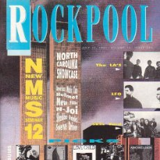 Revistas de música: ROCK POOL , REVISTA DE MUSICA (EDICION EN INGLES) - EDITADA JULY 1991. Lote 22771860