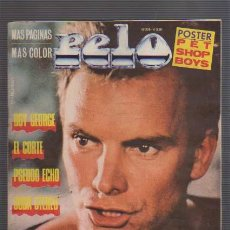 Revistas de música: PELO- REVISTA HISTORICA DE ROCK EN ARGENTINA-N-298-STING Y OTROS. Lote 23577803