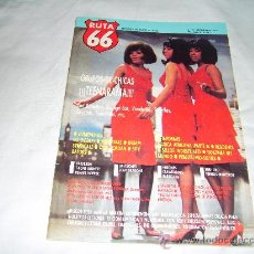 Revistas de música: RUTA 66 Nº 21: BO DIDDLEY. PANDORAS. TEENARAMA. CYRIL JORDAN. DREAM SYNDICATE. BATORS. GRUPOS CHICAS. Lote 257546410