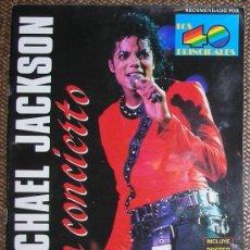 Revistas de música: REVISTA MICHAEL JACKSON EN CONCIERTO 1988. Lote 26691814