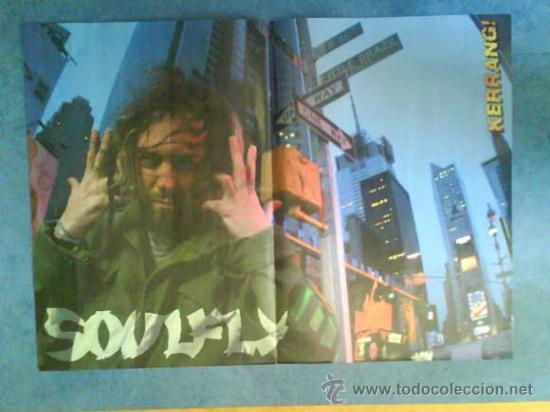 Revistas de música: LOTE DE +170 POSTER (CON FOTOS) HEAVY HIM TOOL JIMI HENDRIX MUSE ROLLING STONES THE WHO SLIPKNOT - Foto 148 - 27314654