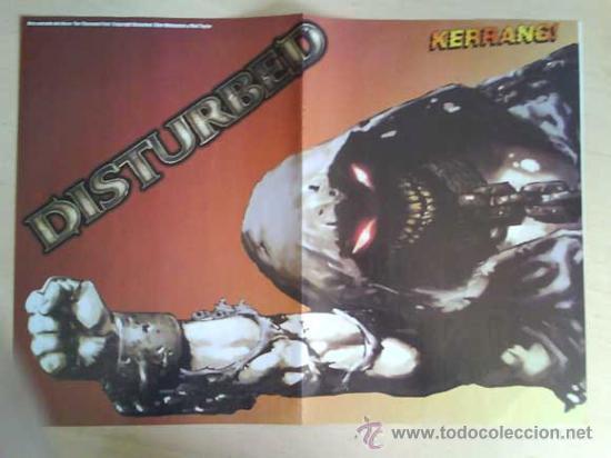 Revistas de música: LOTE DE +170 POSTER (CON FOTOS) HEAVY HIM TOOL JIMI HENDRIX MUSE ROLLING STONES THE WHO SLIPKNOT - Foto 155 - 27314654