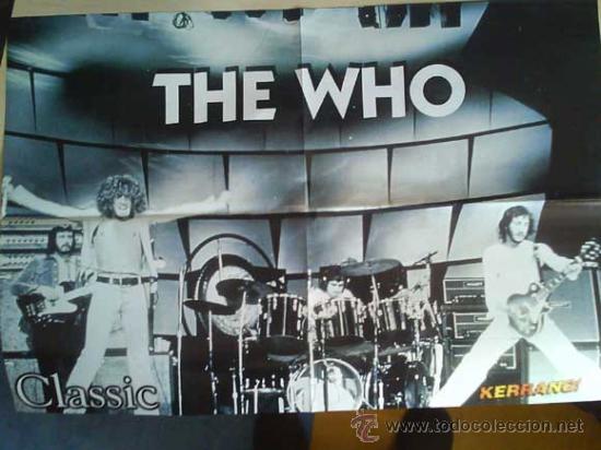 Revistas de música: LOTE DE +170 POSTER (CON FOTOS) HEAVY HIM TOOL JIMI HENDRIX MUSE ROLLING STONES THE WHO SLIPKNOT - Foto 170 - 27314654