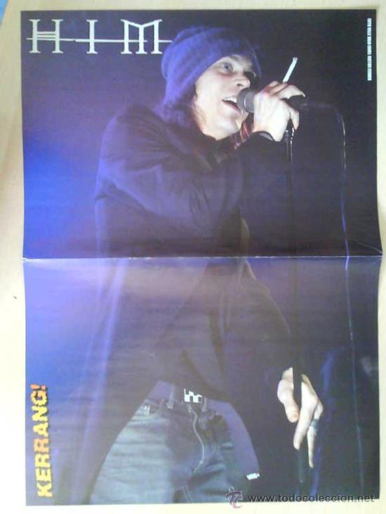 Revistas de música: LOTE DE +170 POSTER (CON FOTOS) HEAVY HIM TOOL JIMI HENDRIX MUSE ROLLING STONES THE WHO SLIPKNOT - Foto 168 - 27314654