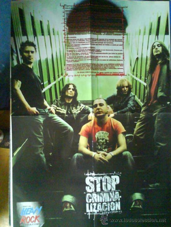 Revistas de música: LOTE DE +170 POSTER (CON FOTOS) HEAVY HIM TOOL JIMI HENDRIX MUSE ROLLING STONES THE WHO SLIPKNOT - Foto 172 - 27314654