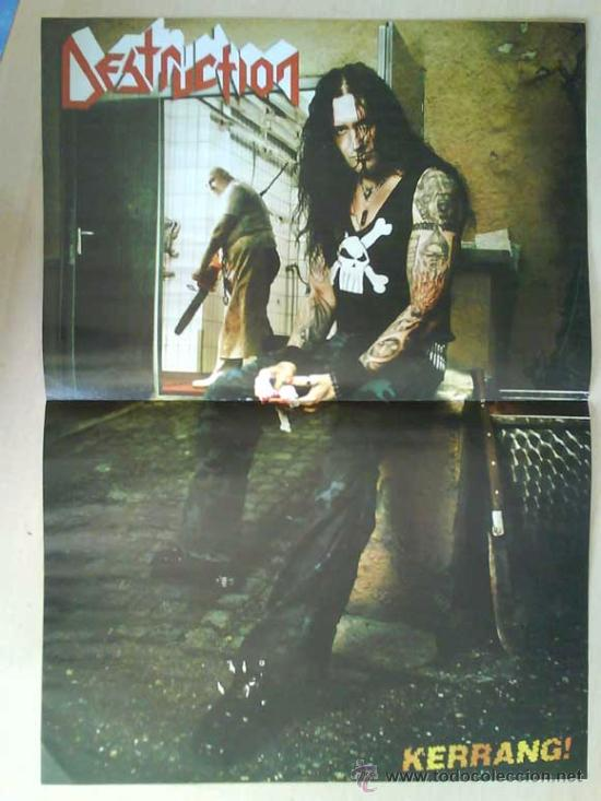Revistas de música: LOTE DE +170 POSTER (CON FOTOS) HEAVY HIM TOOL JIMI HENDRIX MUSE ROLLING STONES THE WHO SLIPKNOT - Foto 115 - 27314654