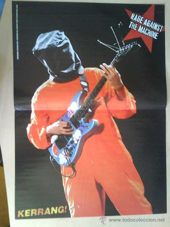Revistas de música: LOTE DE +170 POSTER (CON FOTOS) HEAVY HIM TOOL JIMI HENDRIX MUSE ROLLING STONES THE WHO SLIPKNOT - Foto 114 - 27314654