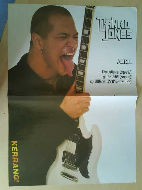 Revistas de música: LOTE DE +170 POSTER (CON FOTOS) HEAVY HIM TOOL JIMI HENDRIX MUSE ROLLING STONES THE WHO SLIPKNOT - Foto 93 - 27314654
