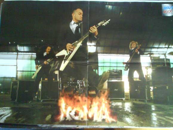 Revistas de música: LOTE DE +170 POSTER (CON FOTOS) HEAVY HIM TOOL JIMI HENDRIX MUSE ROLLING STONES THE WHO SLIPKNOT - Foto 28 - 27314654