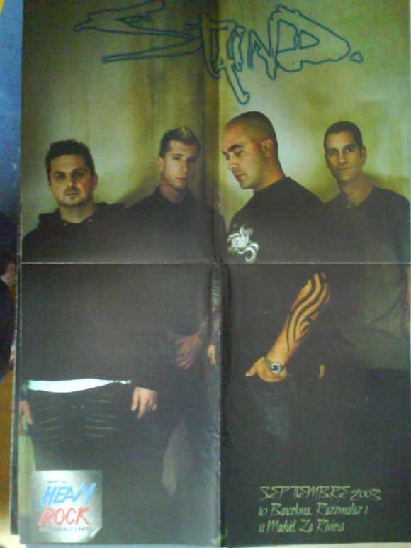 Revistas de música: LOTE DE +170 POSTER (CON FOTOS) HEAVY HIM TOOL JIMI HENDRIX MUSE ROLLING STONES THE WHO SLIPKNOT - Foto 7 - 27314654