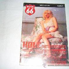 Revistas de música: RUTA 66 Nº 95, MAYO 1994. HOLE. ELVIS COSTELLO. DONOVAN. BREEDERS. MALCOLM SCARPA. BLUR. TEENGENERAT. Lote 194680228
