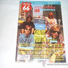 Magazines de musique: RUTA 66 Nº 75, JULIO-AGOSTO 1992. SONIC YOUTH. ELVIS PRESLEY. BRUCE SPRINGSTEEN. PAUL COLLINS.. Lote 207461676