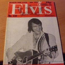 Revistas de música: ELVIS Nº 232 EN INGLES ALWAYS 100% ELVIS (COIB55). Lote 27097723