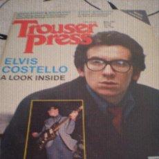 Revistas de música: TROUSER PRESS - Nº61(MAY 81)-MOTORHEAD,SHOES,WHO,PHIL SEYMOUR,COSTELLO.. Lote 28272044