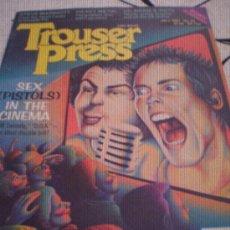 Revistas de música: TROUSER PRESS - Nº 63(JUL 81) - STEVE MARRIOT,HEAVY METAL,U2,BOWIE,SEX PISTOLS.. Lote 28272122