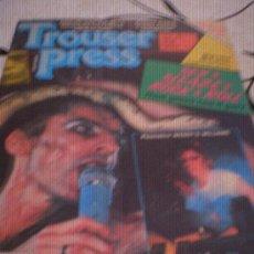 Revistas de música: TROUSER PRESS - Nº66(OCT 81) - SPARKS,MADNESS,HOLLY & THE ITALIANS,M.MCLAREN.. Lote 28272204