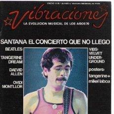 Revistas de música: VIBRACIONES N.28 . Lote 28422997