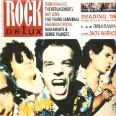 Riviste di musica: ROCK DE LUX 57: ROLLING STONES, RAY LEMA, ANDY WARHOL, ALASKA & DINARAMA . Lote 28550475
