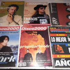 Revistas de música: LOTE 6 REVISTAS POP ROCK ALTERNATIVO. Lote 29029564