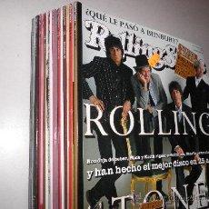 Revistas de música: LOTE 10 REVISTAS ROLLING STONE 2005 2006 2008. Lote 29029996