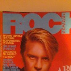 Revistas de música: REVISTA .ROCK ESPEZIAL.Nº18.AÑO 83. Lote 29074329