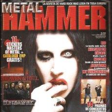 Revistas de música: METAL HAMMER 259. Lote 29184578