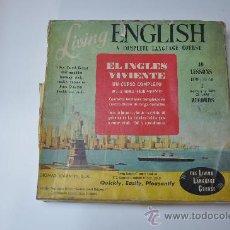 Revistas de música: LIVING ENGLISH - CURSO COMPLETO DE INGLES. Lote 29498398