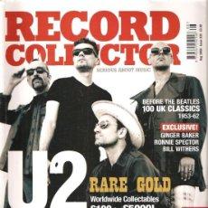 Revistas de música: RECORD COLLECTOR 326. Lote 29826281