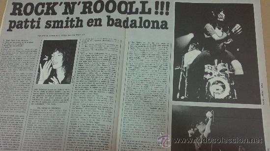 Revistas de música: &REVISTA VIBRACIONES--( CLAPTON,PATTI SMITH..Y..MAS)-AÑO1976, Nº 26, - Foto 2 - 30219758