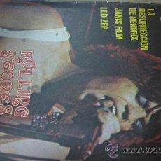 Revistas de música: &REVISTA VIBRACIONES--( HENDRIX,LED ZEPPELIN,ROLLING STONES...Y..MAS)- AÑO1975, Nº 10,. Lote 30219598