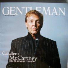 Revistas de música: REVISTA ESPAÑOLA GENTLEMAN PAUL MCCARTNEY BEATLES. Lote 30817016