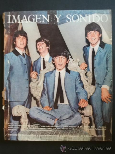 REVISTA ESPAÑOLA IMAGEN Y SONIDO THE BEATLES 1964 (Música - Revistas, Manuales y Cursos)