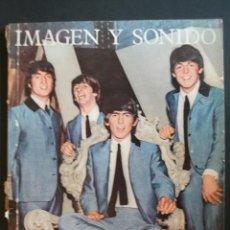 Revistas de música: REVISTA ESPAÑOLA IMAGEN Y SONIDO THE BEATLES 1964. Lote 30817719