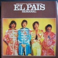 Revistas de música: THE BEATLES REVISTA ESPAÑOLA PAIS SEMANAL 10 DE ENERO 1987. Lote 30842193